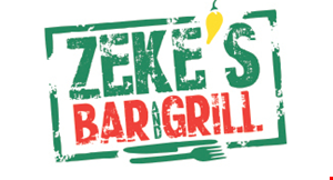 Zeke's Bar and Grill logo