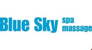 Blue Sky Spa & Massage logo