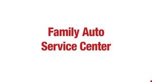 Family Auto Service Center logo