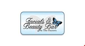Facials & Beauty Bar at The Factory logo