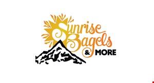 Sunrise Bagels & More logo