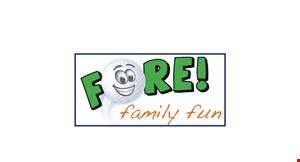 Fore Family Fun logo