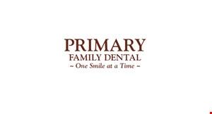 Primary Family Dental logo