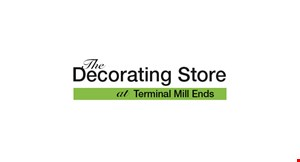 The Decorating Store at Terminal Mill Ends logo