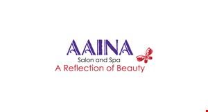 Aaina Salon and Spa logo