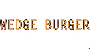 Wedge Burger logo
