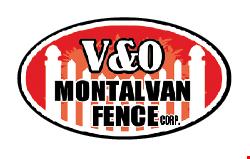 V&O Montalvan Fence Corp. logo
