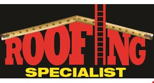 Product image for Roofing Specialist $100 OFF ANY JOB OF $1000 OR MORE.