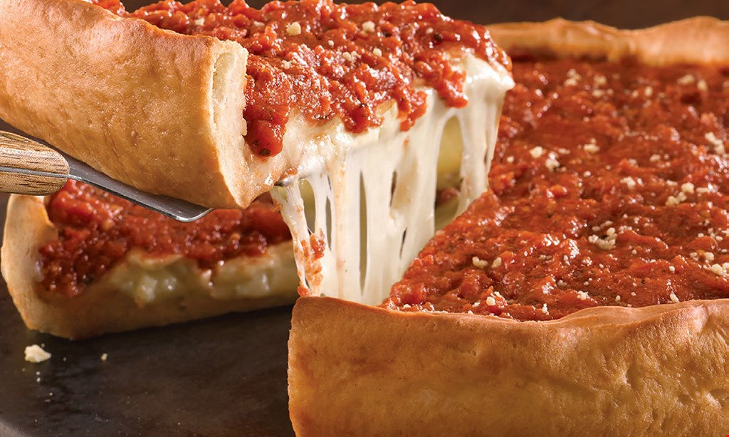 Product image for GIORDANO'S FREE cheese bread or cheese triangles with purchase of any large pizza.