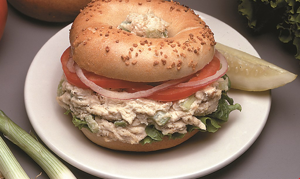 Product image for Mount Kisco Bagel $5 OFF any purchase of $35 or more.
