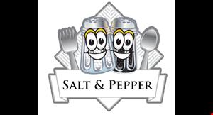 Salt & Pepper Rotisserie Chicken logo