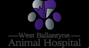 West Ballantyne Animal Hospital logo