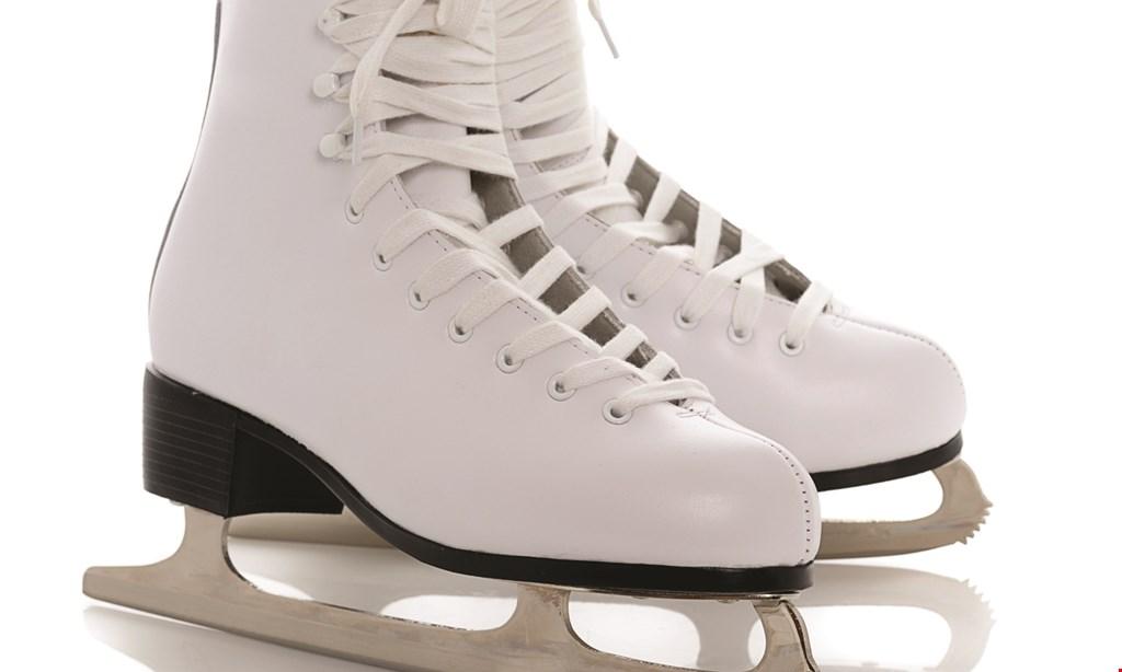 Product image for LA Kings Icetown Riverside FREE Skate Rental (value $3.00) during open skating.