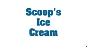 Scoop's Ice Cream logo
