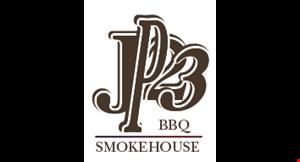 JP23 BBQ Smokehouse logo