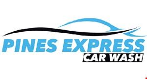 Pines Express Car Wash logo
