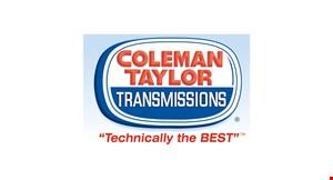 Coleman Taylor Transmissions logo
