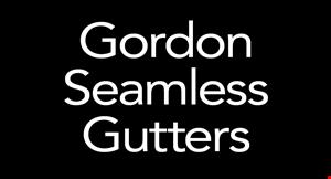 Gordon Seamless Gutters logo