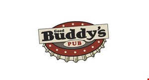 Product image for GOOD BUDDY'S PUB $5 OFF With $25 Food Purchase.
