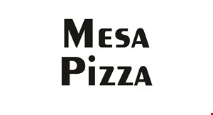 Mesa Pizza logo