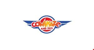 Comikaze and Toys logo