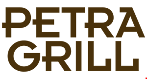 Product image for Petra Grill $5 off any purchase of $25 or more