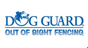 Dog Guard Out of Site Fencing logo