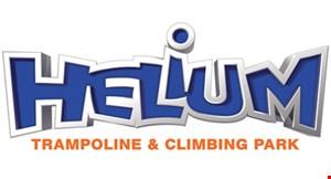 Helium Trampoline & Indoor Adventure Park logo