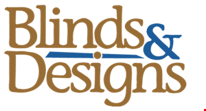 BLINDS & DESIGNS logo