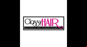 Classy Hair &Wigs logo