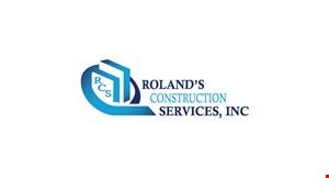 Roland's Construction Services Inc. logo