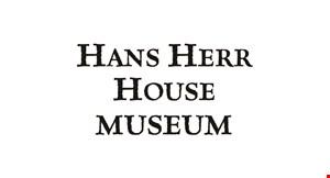Lancaster Mennonite Historical Society Hans Herr House & Museum logo