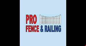 Pro Fence and Railing logo
