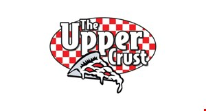 "Product image for The Upper Crust $12.99+ tax large 18"" cheese pizza & breadsticks toppings extra."