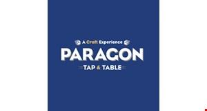 Paragon Tap & Table logo