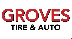 Groves Tire & Auto logo