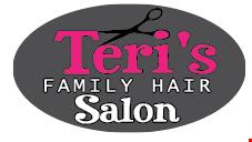 Teri's  Family Hair Salon logo