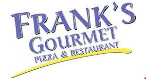 Frank's  Gourmet Pizza and Restaurant logo