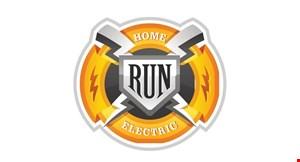 Home Run Electric logo