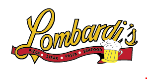 Lombardi's Pizza and Steak logo