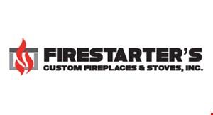 Firestarters Custom Fireplaces  & Stoves logo