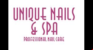 Unique Nails logo