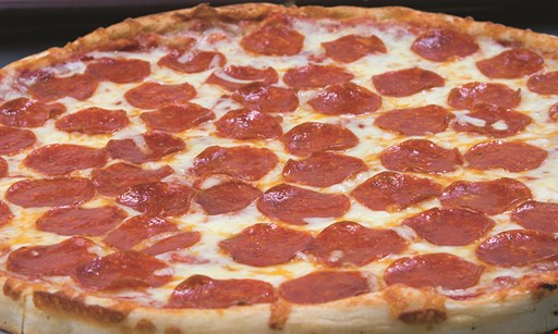 Product image for Vini's Pizza $24.99 + tax thin crust 2-topping pizza, 8 wings & (1) 2-liter of Pop.