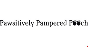 Pawsitively Pampered Pooch logo