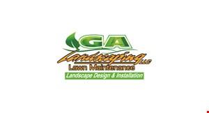 GA Landscaping logo