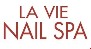 La Vie Nail Spa logo