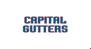 Product image for CAPITAL GUTTERS $1999 Complete Gutter System