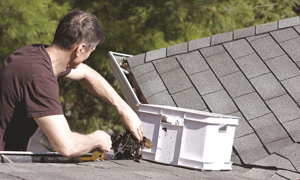 Product image for CAPITAL GUTTERS Seamless Gutters $1299 Avg Average Home Gutters & Downspouts Installed