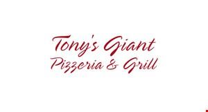 Tony's Giant Pizzeria & Grill logo