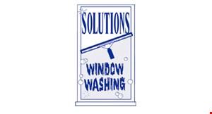 Solutions Window Washing logo